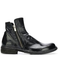 Officine Creative - Side Zip Ankle Boots - Lyst
