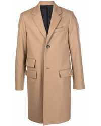 Zadig & Voltaire Single-breasted Tailored Coat - Natural