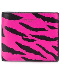 Saint Laurent - Animal Print Wallet - Lyst