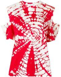 Toga Pulla   Cutout Tie-dye T-shirt   Lyst