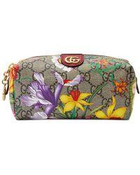 Gucci Ophidia Flora Make Up Bag - Multicolour