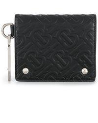 Burberry 三つ折り財布 - ブラック