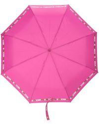 Moschino Зонт С Логотипом - Розовый