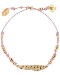 Tod's Shoe Charm Bracelet - Pink