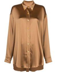Sies Marjan Kiki オーバーサイズ シャツ - マルチカラー