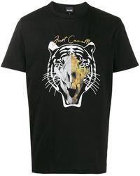 Just Cavalli - タイガー Tシャツ - Lyst