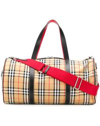 Burberry - Kennedy Checked Holldall - Lyst