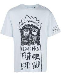 Haculla There's No Future Tシャツ - ブルー