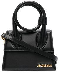 Jacquemus Mini-Handtasche - Schwarz