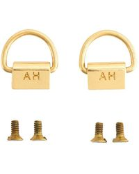 Anya Hindmarch Phone Case D-rings - メタリック