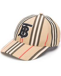 Burberry Pet Met Geborduurd Logo - Bruin