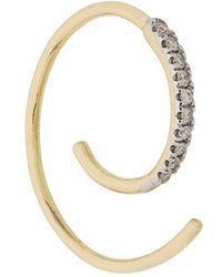 Maria Black - Loop Diamond Earring - Lyst
