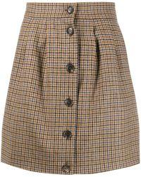 Roseanna Check Mini Skirt - Multicolour