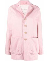 Toogood Single-breasted Shirt Jacket - Pink