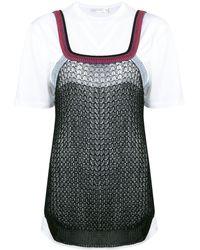 Victoria Beckham - レイヤード Tシャツ - Lyst