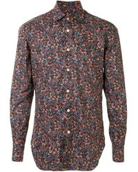 Kiton Floral Print Shirt - Многоцветный
