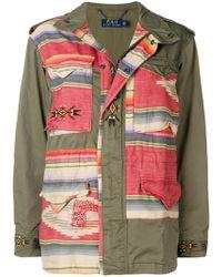 Polo Ralph Lauren - Colour-block Zipped Jacket - Lyst