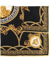 Versace Платок С Логотипом Medusa - Черный
