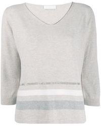Fabiana Filippi V-neck Sweater - Multicolor