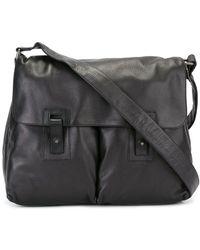 Orciani - Pocket Detail Messenger Bag - Lyst