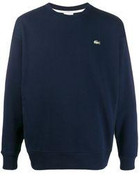 Lacoste L!ive ロゴ スウェットシャツ - ブルー