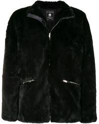 MASTERMIND WORLD スカル ジャケット - ブラック