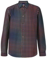 PS by Paul Smith - Check Gradient Fitted Shirt - Lyst