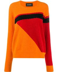 Neil Barrett Geometric Pattern Sweater - Orange