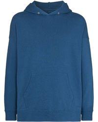 Visvim Jumbo Hooded Sweatshirt - Blue
