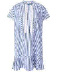 PS by Paul Smith - Striped Drop Pleat Dress - Lyst