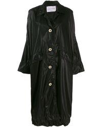 Sonia Rykiel Oversized Mantel - Zwart