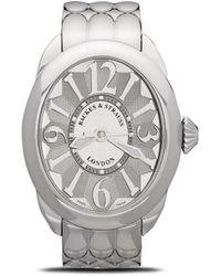Backes & Strauss Наручные Часы Regent Steel 3238 38 Мм - Белый