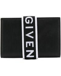 Givenchy Футляр Для Карт С Логотипом - Черный
