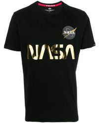 Alpha Industries   Nasa T-shirt   Lyst