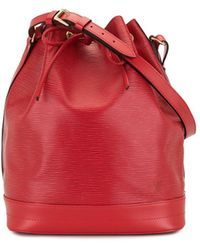 Louis Vuitton Noé Bucket-tas - Rood