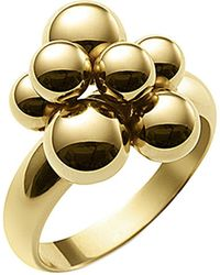 Marina B 18kt Yellow Gold Mini Atomo Ring - Metallic