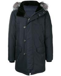 Brioni - Parka coat - Lyst