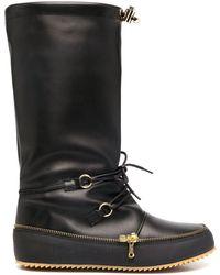JW Anderson Zip-detail Boots - Black