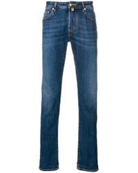 Jacob Cohen - Handkerchief Straight-leg Jeans - Lyst