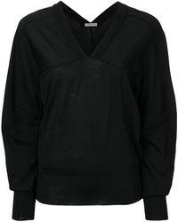 Bottega Veneta Vネック セーター - ブラック