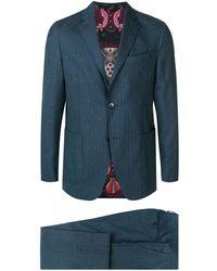Etro Zweiteiliger Anzug - Blau