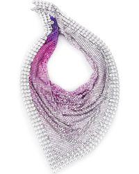 Paco Rabanne Декорированный Платок - Пурпурный