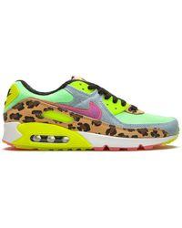 "Nike ""zapatillas bajas Air Max 90 LX """"Denim Leopard Print"""""" - Verde"