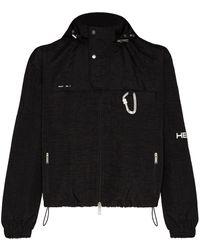 HELIOT EMIL ジップアップ ジャケット - ブラック
