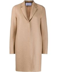 Harris Wharf London Cappotto monopetto - Blu
