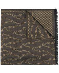 Versace - ロゴ シルクスカーフ - Lyst