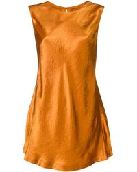Sies Marjan ノースリーブ ブラウス - オレンジ