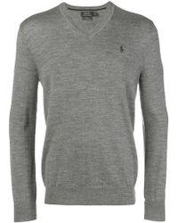 c3630d377e9 Lyst - Polo Ralph Lauren Classic Sweater in Black for Men