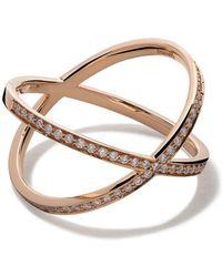 Vanrycke - 18kt Rose Gold And Diamond Coachella Ring - Lyst