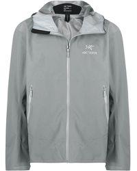 Arc'teryx ロゴ スポーツジャケット - グレー